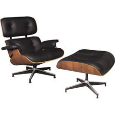 Eames Chair and foot stool