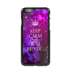 KARJECS iPhone 6 Case Cover Keep Calm and Just Be You Pattern Hard Case Cover Skin for iPhone 6 KARJECS http://www.amazon.com/dp/B013UACSGA/ref=cm_sw_r_pi_dp_J7R1vb135D8HY