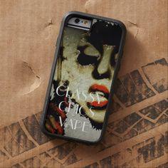 Lady With Attitude Grunge Art Vape iPhone6 Case