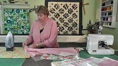 The Self Binding Baby Quilt (Receiving Blanket)