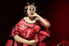 Niki de Saint Phalle;La Toilette, 1978, exposé au Grand Palais (septembre 2014)