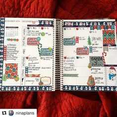 We know how busy things get this time of year. Take a look at @ninaplans holiday calendar for some planning inspiration!