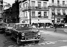 Avenida da Liberdade, esquina com a Rua das Pretas - 1963