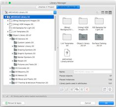 Exporting Objects from a Loaded Library in ARCHICAD