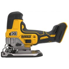 DEWALT Max Brushless Variable Speed Keyless Cordless Jigsaw (Battery Not Included) at Lowe's. Our MAX XR® cordless jig saw features an efficient motor for powerful performance and extreme runtime. Precisely control blade speed up to Woodworking Jigsaw, Woodworking Skills, Woodworking Projects, Woodworking School, Custom Woodworking, Pallet Projects, Woodworking Plans, Dewalt Power Tools, Jig Saw Blades