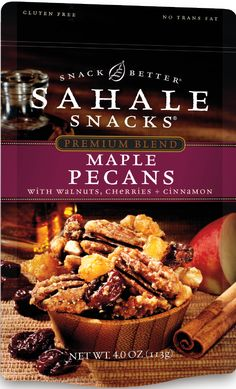 Maple Pecans - Sahale Snacks