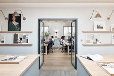 Look Inside the Offices of Interior Designers and Architects - Behind the Design - Dering Hall Top Interior Designers, Office Interior Design, Office Interiors, Interior Decorating, Design Offices, Architecture Design, Interior Fit Out, Sustainable Design, Cabinet