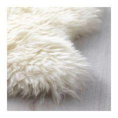 LUDDE Ovčia koża IKEA Vlna je veľmi trvanlivá a odolná voči škvrnám.