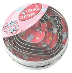 Hello Kitty Stainless Steel Cookie Cutter - Set Of 5 Alfred Franks,HELLO KITTY to buy just click on amazon here http://www.amazon.com/dp/B005WHBCSK/ref=cm_sw_r_pi_dp_ysCDsb0WKSECHNMR