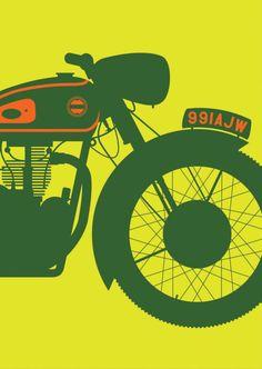 Motorbikes — new series / Tim George, 2013