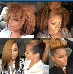 Fab hair styles.