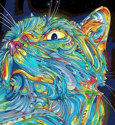 Cats - Online Cross Stitch Patterns