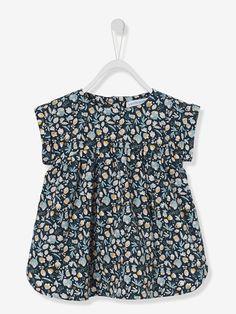 Winterkleid für Baby Mädchen, Kurzarm - TAUPE BEDRUCKT+TINTE+WOLLWEIß BEDRUCKT - 8