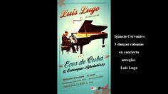 """""""Danzas cubanas""""-Luis Lugo Recital Sala Zitarrosa Montevideo 2013"""