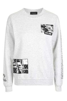 Offline Sweatshirt - Topshop USA