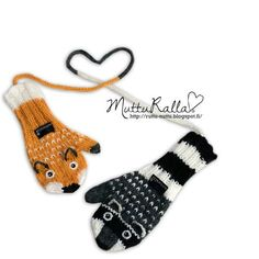 Muttur: When mittens are not couples but the guys Mittens Pattern, Knit Mittens, Mitten Gloves, Knitted Hats, Knitting Videos, Knitting Charts, Baby Knitting Patterns, All Free Crochet, Crochet For Kids
