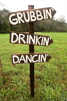 GRUBBIN'  DRINKIN'  DANCIN' - gotta be your kinda song in there, somewhere ... Don't make it our song though ! LOLove