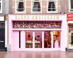 Blond Amsterdam, Amsterdam Cafe, Amsterdam Travel, Amsterdam Photography, Creative Wedding Cakes, Boutique Decor, Cafe Interior Design, Watercolor Fashion, Princess Wedding Dresses