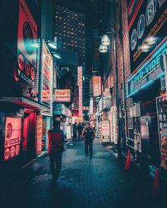 Vibrant Night Photography of Tokyo's Streets by Keiichiro Kinoshita #inspiration #photography