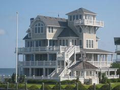 A little house on the beach.