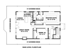 House Plan 85222 - Contemporary Style House Plan with 2025 Sq Ft, 2 Bed, 2 Bath, 2 Car Garage Carriage House Plans, Pole Barn House Plans, Pole Barn Homes, Country House Plans, House Floor Plans, Barn Plans, Contemporary House Plans, Contemporary Style Homes, Barndominium Plans