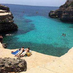 Cala forcat beach in Menorca, absolute bliss...