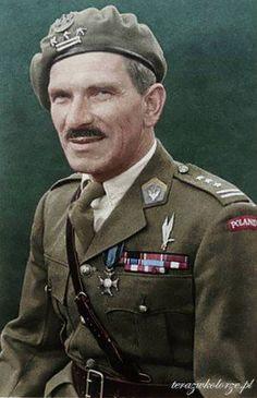 Stanisław Franciszek Sosabowski CBE (Polish pronunciation: [staˈɲiswaf sɔsaˈbɔfskʲi]; 8 May 1892 – 25 September 1967) was a Polish general in World War II. He fought in the Battle of Arnhem (Netherlands) in 1944 as commander of the Polish 1st Independent Parachute Brigade. More info: http://en.wikipedia.org/wiki/Stanisław_Sosabowski (Colorised by Marcin Pasiak from Poland)