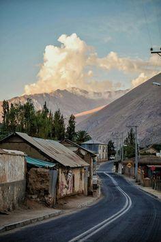 Pisco Elqui, Valle de Elqui, IV Región