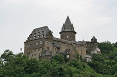 Burg Stahleck castle by ayearineurope on Flickr - Germany