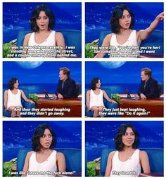 She could say something mean to me all day! I love Aubrey Plaza! Lol, Haha Funny, Hilarious, Funny Stuff, Funny Things, Parks N Rec, Parks And Recreation, Aubry Plaza, Matthew Mcconaughey