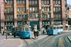 Beautiful Vintage Color Photographs Showing Transport in Stockholm in the 1960s
