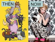 Crazy Cat Lady then and now in 10 pictures