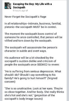 Sociopathic narcissist definition