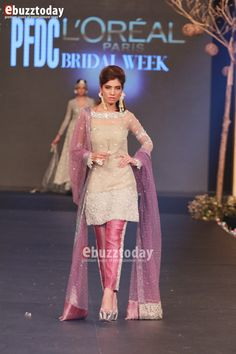 """""""It is always a pleasure to be a part of PFDC L'Oréal Paris Bridal Week, a fashion extravaganza which heralds the onset of the Pakistani wedding season. It has become one the most prestigious platforms nationwide and has played an important role as a contributor to the livelihood of many by keeping the traditional artRead More"""