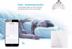 Broadlink Smart Home Original Touching 1 Load Panel Switch Wireless Remote Light Controller(UK Plug) - Tmart Smartwatch, Apple Technology, Home Surveillance, Home Automation, Smart Home, Plugs, Wifi, Remote, Touch
