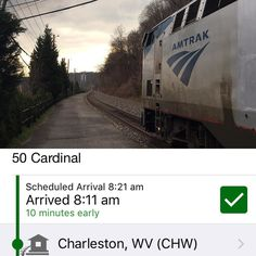 @Amtrak Cardinal just crushing it per usual. We had to wait for the schedule to catch up with us!  #amtrakgram #travellog #countryroadtakemehome #wv  #trains Head over to cultofamericana.com to check out the terrific stories behind this photo and more!  #rsa_theyards #pnw_rrshots #rail_barons #trains_worldwide #locos_of_america #railfansunited #daily_crossing #trb_express #trb_country #trb_rurex #wanderlust  #ig_trainspotting #railways_of_our_world #railfannation #railfans_of_instagram…