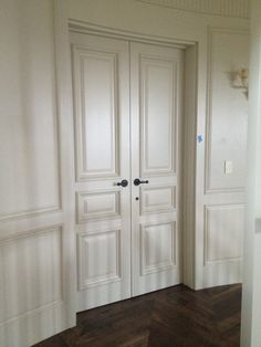 Custom California traditional interior doors