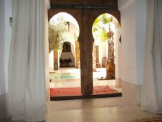 Riad Matham Le Riad, Around The Corner, Marrakech, Oversized Mirror, To Go, Places, Furniture, Home Decor, Homemade Home Decor