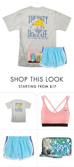 """""""gooooood morning sunshines"""" by lillynelsonn ❤ liked on Polyvore featuring Hanes, NIKE, Vera Bradley and Sole Society"""