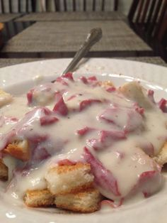 "Chipped Beef On Toast! ""Quick & easy comfort food.""  @allthecooks #recipe"