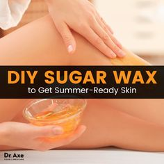 DIY Sugar Wax Recipe for Smooth Summer Skin