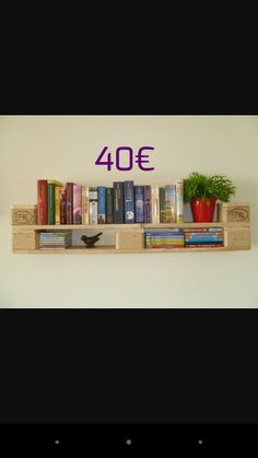 Bücher Regale Bookcase, Shelves, Home Decor, Shelving, Homemade Home Decor, Shelf, Open Shelving, Decoration Home, Book Stands