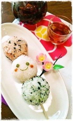 Dango onigiri . . . http://cookpad.com/recipe/1756298