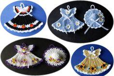 modelos em miniatura de roupas de tricô bebê