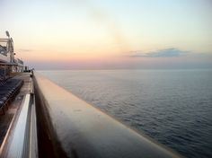 Another beautiful Mediterranean sunrise on Carnival Breeze, Cruise Destinations, Sunrise, Country Roads, Europe, Beach, Water, Outdoor, Beautiful
