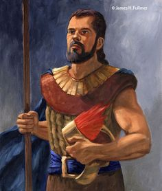 Helaman - The eldest son of Alma the younger, he was a great prophet, and missionary and was given charge over the gold plates and other sacred objects.   He was also a great military leader and led the 2000 young Lamanite warriors whom he regarded as his sons.     Alma 31 - 62