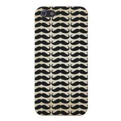Many Mustache Pattern iPhone 5 case