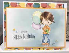 Created by Me Cristina Victorino Raposo using a Polkadoodles digi image for this happy birthday card Happy Birthday Cards, Create, Image, Happy Birthday Greeting Cards, Happy B Day Cards, Birthday Cards