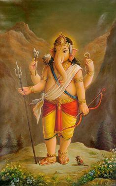 Ganesha by Shreekant Poldar