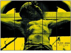 Gilbert & George Black Jesus, 1980 181 x 254 cm Private Collection Courtesy of the Museum of Old and New Art, Tasmania